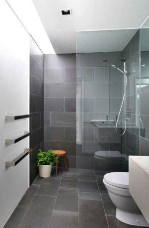 blauwe hardsteen badkamer