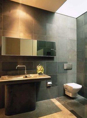natuursteen badkamer